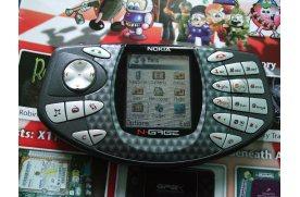 Первый игровой телефон Nokia N-Gage